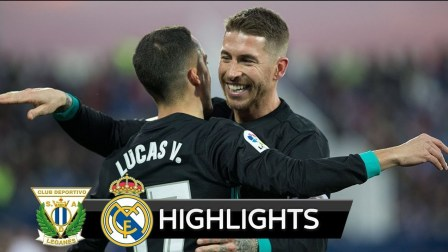 [全场集锦]Leganes 1-3 R.Madrid - Highlights