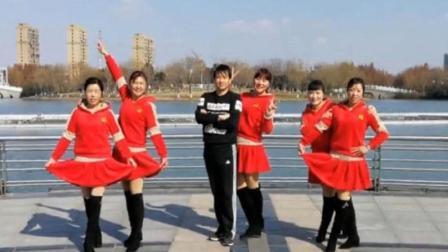 青儿广场舞《赞赞新时代》原创快乐健身舞