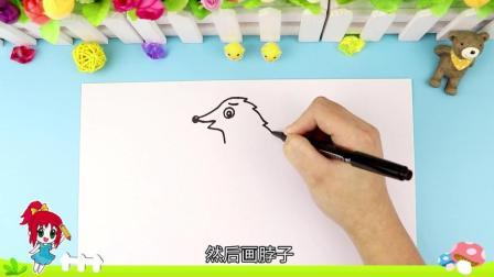 """亲子简笔画丨一个培养宝宝""""爱心""""的生动故事, 分享给大家!"""