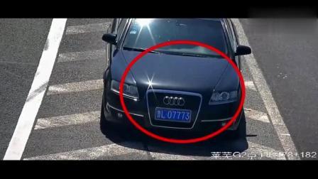 高速交警公布了一段监控视频,看得司机一身冷汗!