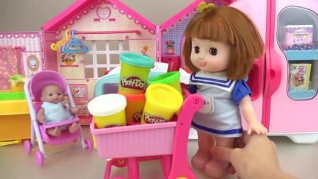 亲子互动, 小萝莉用烤箱做美味饼干, 真好吃