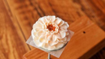 蓝盆花 小包子的韩式裱花课, 烘焙蛋糕培训教学