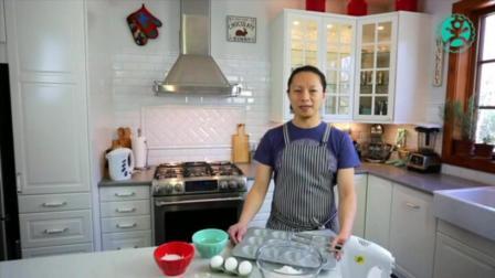 家庭自制蒸蛋糕的做法 用烤箱做最简单的蛋糕 蒸蛋糕视频做法视频