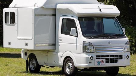 3.4米的小房车, 两张床带洗手池和阁楼, 售价只需7万, 上市要火!