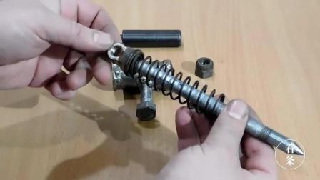 教你做一把这样发弹簧锥, 使用起来超方便