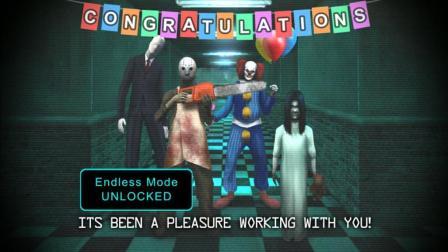 【冰云解说】恐怖游戏: 神经病院的五个夜晚-小丑、女鬼、电锯大哥不存在的