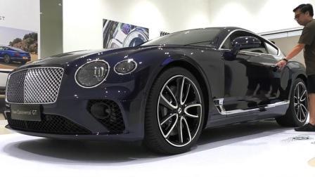 2018新款宾利欧陆GT刚到店, 看到奢华的内饰后不再考虑劳斯莱斯