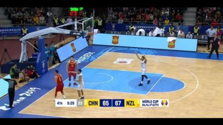 易建联为中国男篮胜利彻底拼了! 这个镜头让解说都看心疼了!