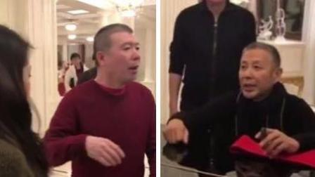 冯小刚邀女演员家宴献舞 陈道明阻止未果爆粗惹风波