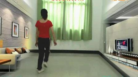 天津学广场舞曳步舞的地方广场舞《女人没有错》鬼步舞动作分解, 正面演示教学