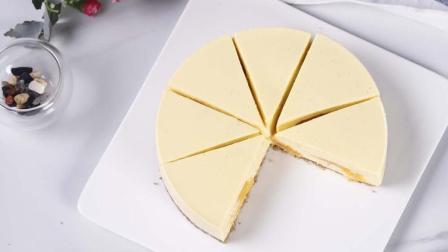 让芝士蛋糕果香满满又不失口! 芒果芝士夹心蛋糕