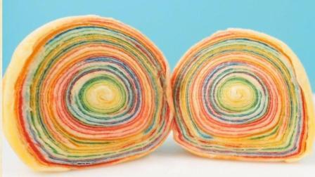 彩虹千层苹果酥, 简单容易看完包你会做