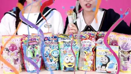 日本食玩大全 品嘗哪種食玩比較好吃 小伶玩具 巧虎做美食