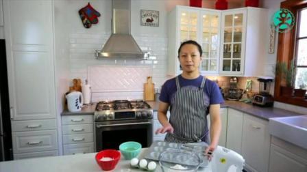 用烤箱做蛋糕的方法和步骤 学做蛋糕要多久能开店 面粉怎么做蛋糕