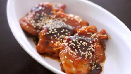 家常菜必备之一日式照烧鸡腿! 简单易做! 一腌一煎! 美味可口!