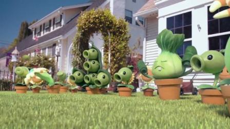 游戏CG动画欣赏《植物大战僵尸2》