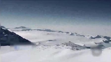 真or假? 南极巨大冰块下出现了奇怪的不明飞行物残骸!