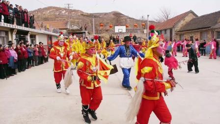 2018海阳市朱吴镇乐畎村秧歌队