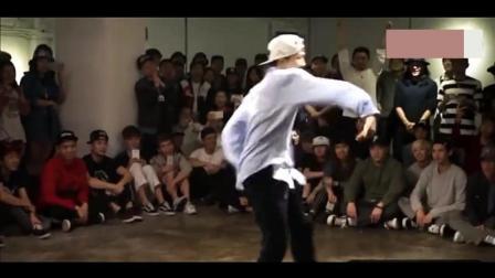 世界街舞大赛韩国poppin第一人: 南贤俊, 出场直接秒杀所有的选手!