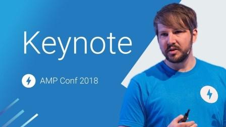 Keynote (AMP Conf 2018)