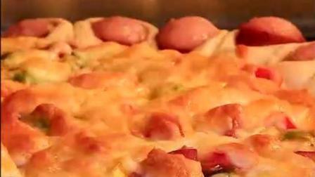 用面包机做披萨很简单, 口感丰富四周这一圈最好吃!