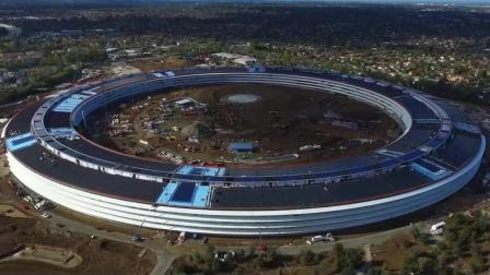 """世界最""""牛""""建筑: 苹果新总部大楼, 耗资330亿乔布斯设计! 耗时8年建成乔布斯已经不再了!"""