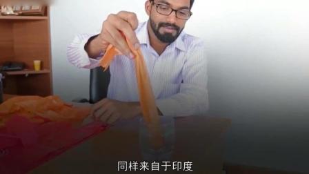 这个印度人竟靠吃塑料解决全球2_8亿吨垃圾? 太不可思议了!