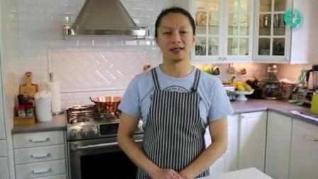 千层蛋糕视频教程 蛋糕的做法视频教程 八寸戚风蛋糕配方做法