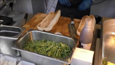 刮奶酪的那一刻我的心都化了, 三明治烤烤芝士火腿-塞拉诺