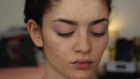 痘痘肌瑕疵皮女生化妆的日常! 化妆前后的差距也太大了!