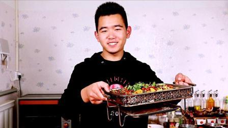 天南地北年夜饭、在家做香辣烤鱼、上桌大气量又足、朋友都夸好吃