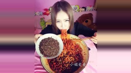 辣椒姐吃泡面, 干吃花椒, 太牛了!