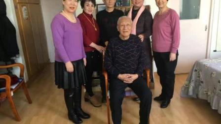 北京福娃老师率丝友代表给天津老师拜年