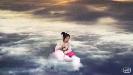 腾云驾雾来表演 Amy小朋友带来英语绘本故事《邦尼的大泡泡》