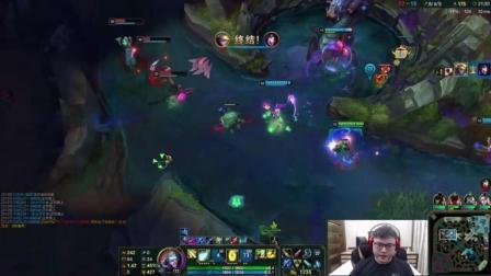 LOL: 发现敌方偷龙, Uzi的EZ默默收下了四杀礼包!