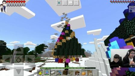 我的世界中国版手游#77: 真正的圣诞树★1.2版本生存#25