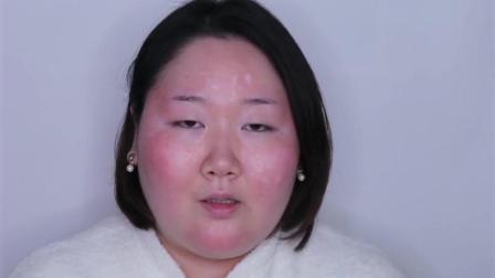 胖妞太丑了相亲10次都没成功,化妆后,简直是我心中女神