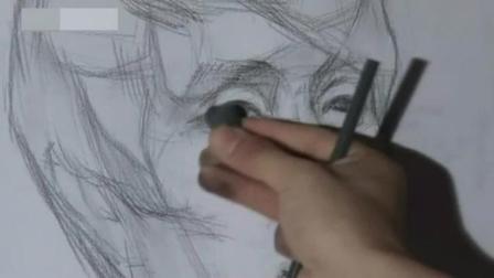 幼儿素描画图片大全 绘画初学者入门教程 素描动漫人物视频
