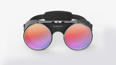 纪梵希推出VR眼镜 冷冰冰的科技设备也时尚了一回!
