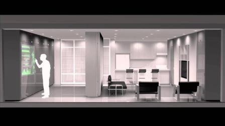 随时随地变换风格的办公室, 在这儿上班让你自愿加班到凌晨!