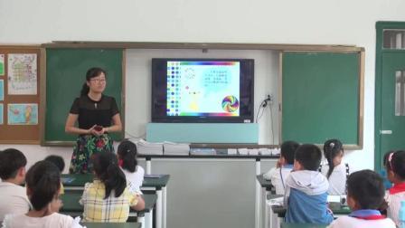 小学美術三年級上册《有趣的拼图》教学视频2