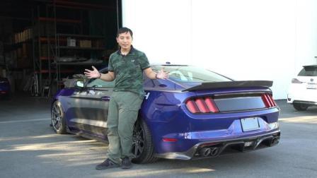 老司机玩车:破百仅3秒 在美国开720马力的野马GT是什么体验