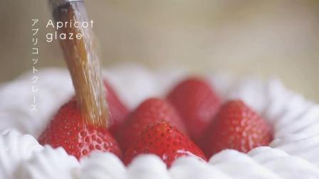 一款清新脱俗的草莓蛋糕, 巧克力草莓蛋糕制作过程