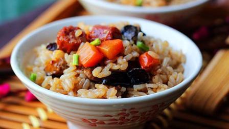 一个电饭锅就能搞定的焖饭, 比排骨焖饭简单, 2分钟学会!