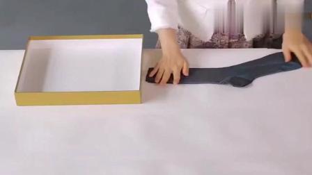 这才是内衣的正确叠法, 学会后盒子瞬间变身完美的内衣抽屉!