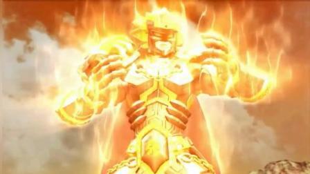 超兽武装-狮王打不过凤凰族超兽战士 为救冥王夫人强行召唤超兽失败
