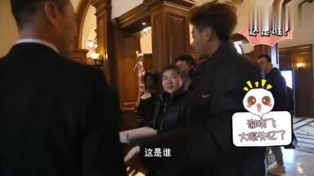 《谈判官》幕后拍摄花絮, 黄子韬介绍女朋友童薇的方式太可爱了