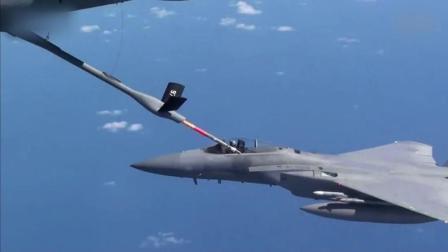 F15战斗机飞行训练, 包括空中加油