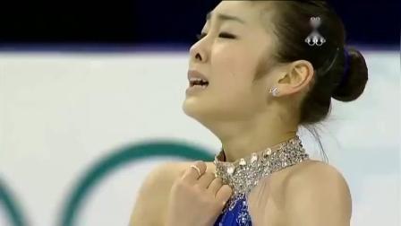 这是花样滑冰历史最杰出表演 金妍儿2010年冬奥运破纪录夺冠