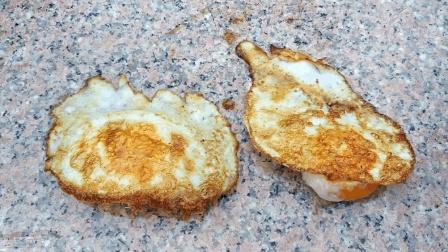 最奇葩的煎蛋方式, 又香又完整, 没什么技巧, 看一遍就会了